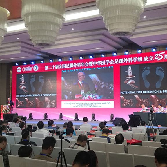 Weight Bearing CT Technology Touted At Chinese National Foot & Ankle Conference
