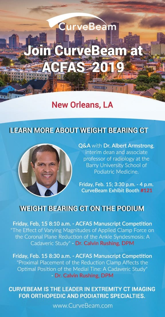 Join CurveBeam At ACFAS 2019