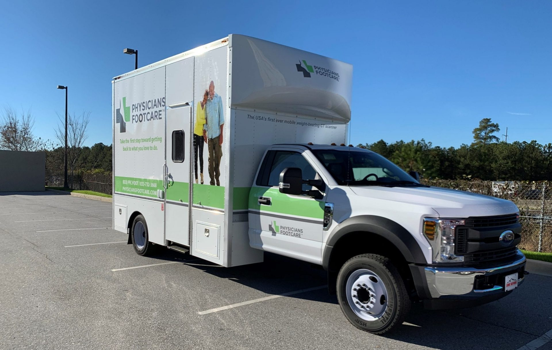 Physicians Footcare And CurveBeam Mobile Hit The Road