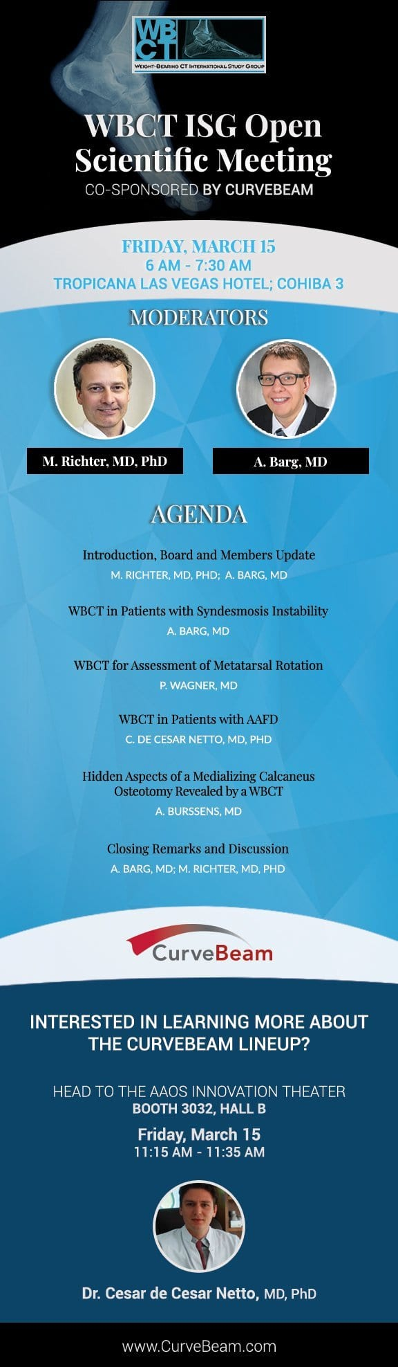 Weight Bearing CT Events At AAOS