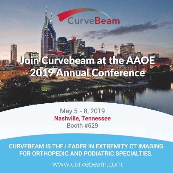CurveBeam Heads To Nashville For AAOE 2019