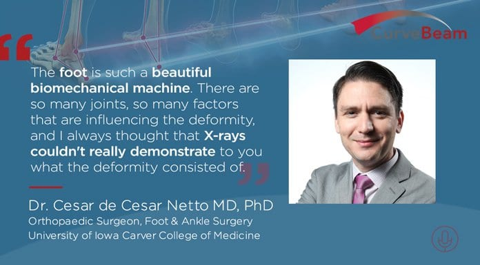 CURVEBEAM CONNECT: Getting To Know Dr. Cesar De Cesar Netto