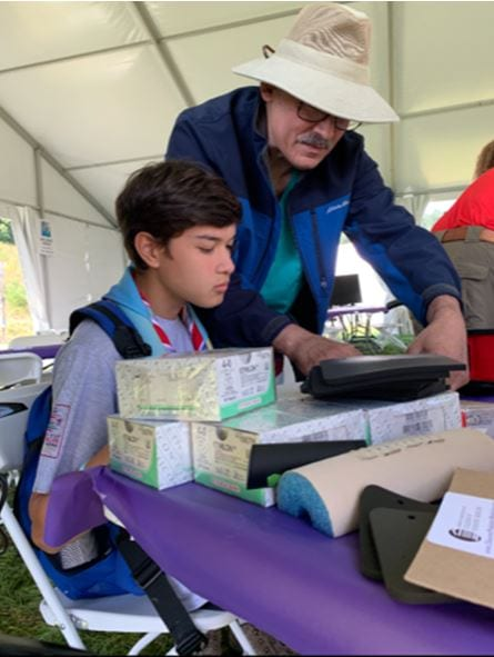 24th World Scout Jamboree: Promoting Podiatry With Today's Youth
