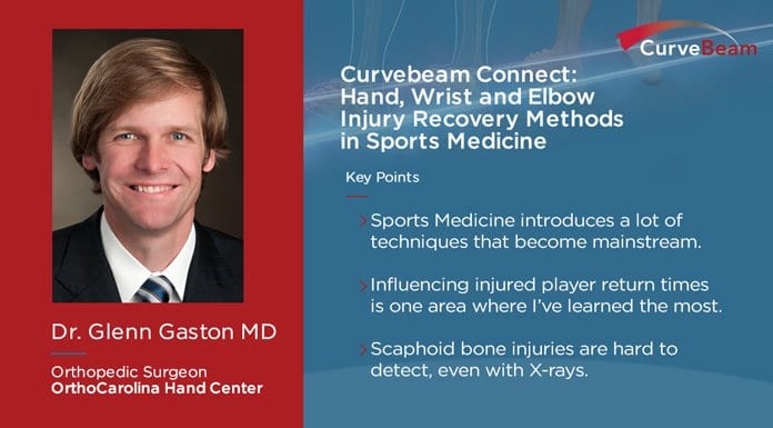 CurveBeam Connect: Hand, Wrist & Elbow Injury Recovery Methods In Sports Medicine