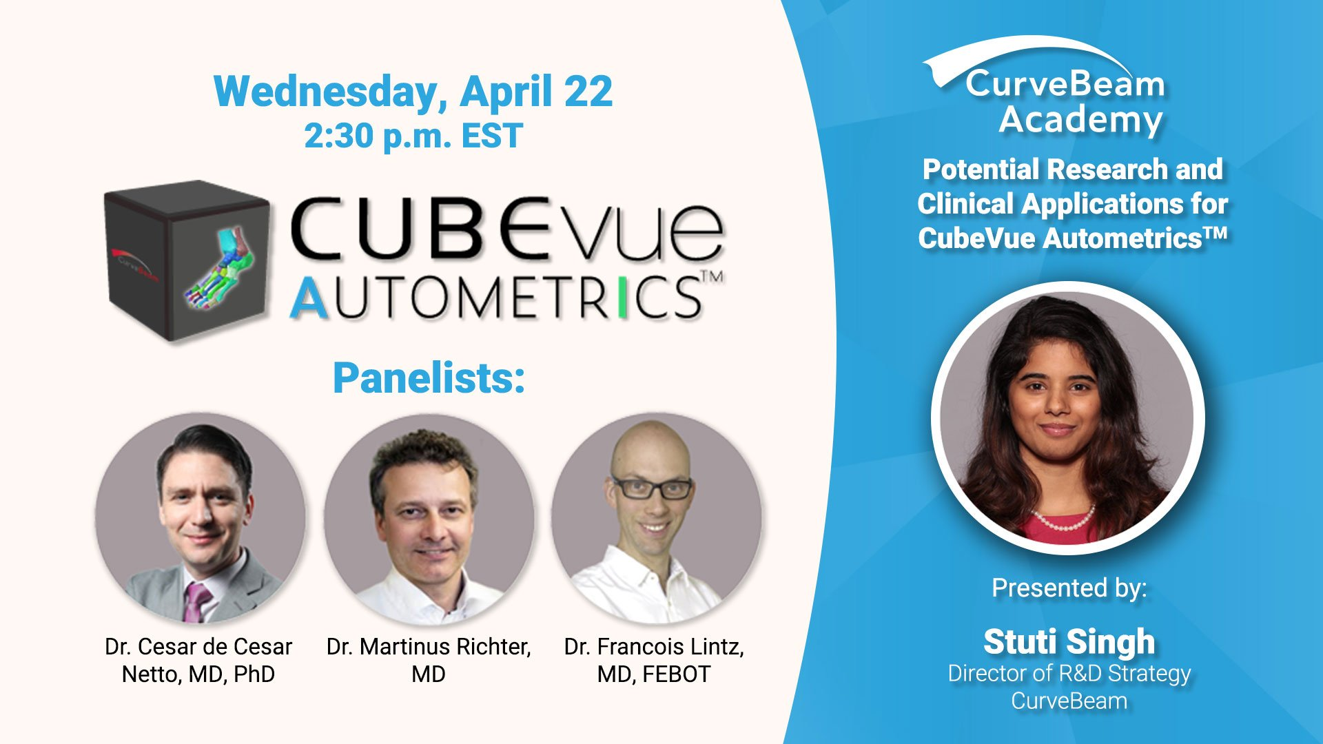 Webinar: Potential Applications For CubeVue Autometrics