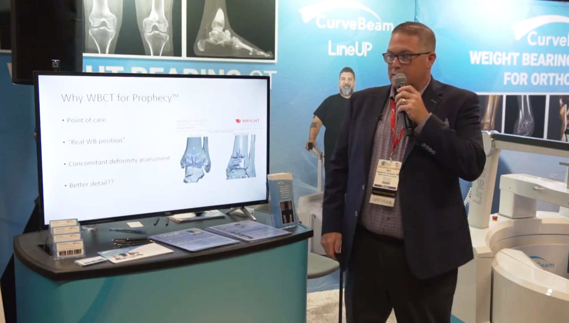 Dr Robert Santrock and the Wright PROPHECY Preoperative Navigation System – AOFAS 2019 – MarketScale (1)
