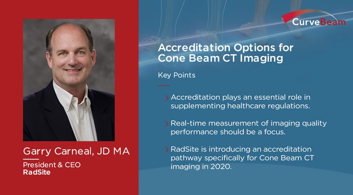 CurveBeam Connect: Accreditation Options For Cone Beam CT Imaging
