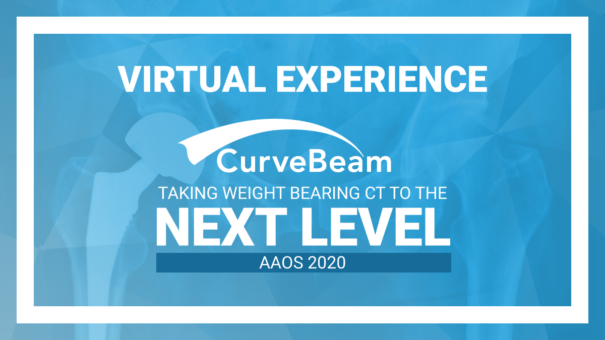 CurveBeam At AAOS 2020 Virtual Experience