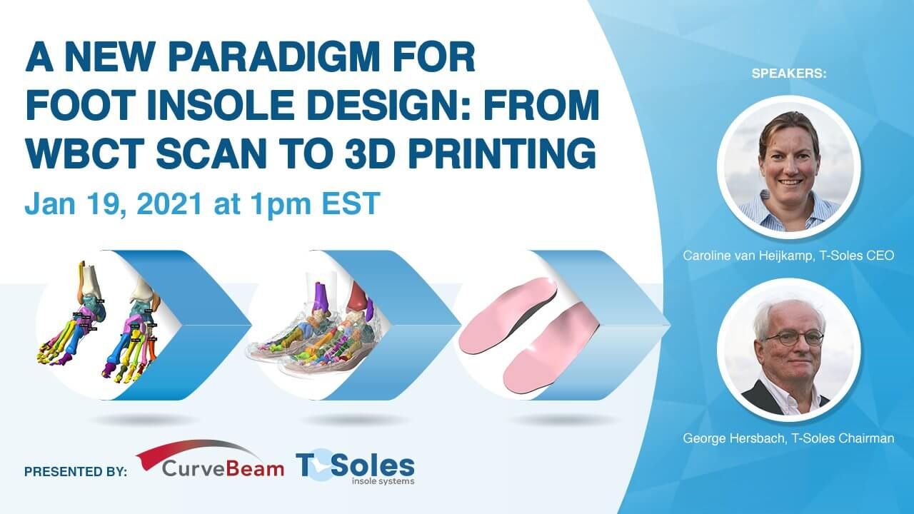 Webinar: A New Paradigm For Insole Design W/WBCT